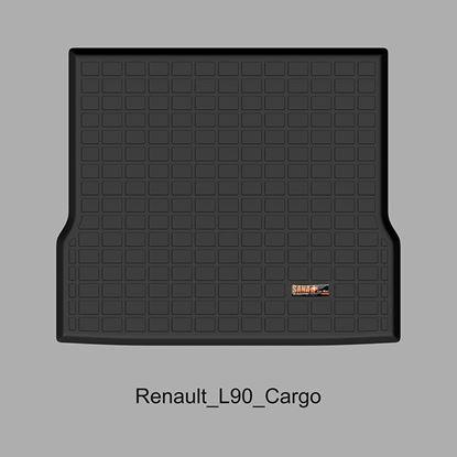 تصویر کفپوش صندوق رنو L90